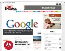 #124 para Design a Logo for The Daily Engage por cbayuelo