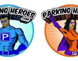 #11 для ParkingHeroes.com  Guaranteed $ Illustrators needed 2 characters !!  Sealed Contest... See Samples от heximages