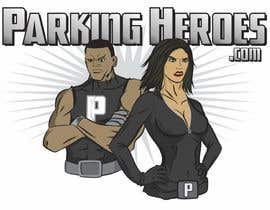 heximages tarafından ParkingHeroes.com  Guaranteed $ Illustrators needed 2 characters !!  Sealed Contest... See Samples için no 14