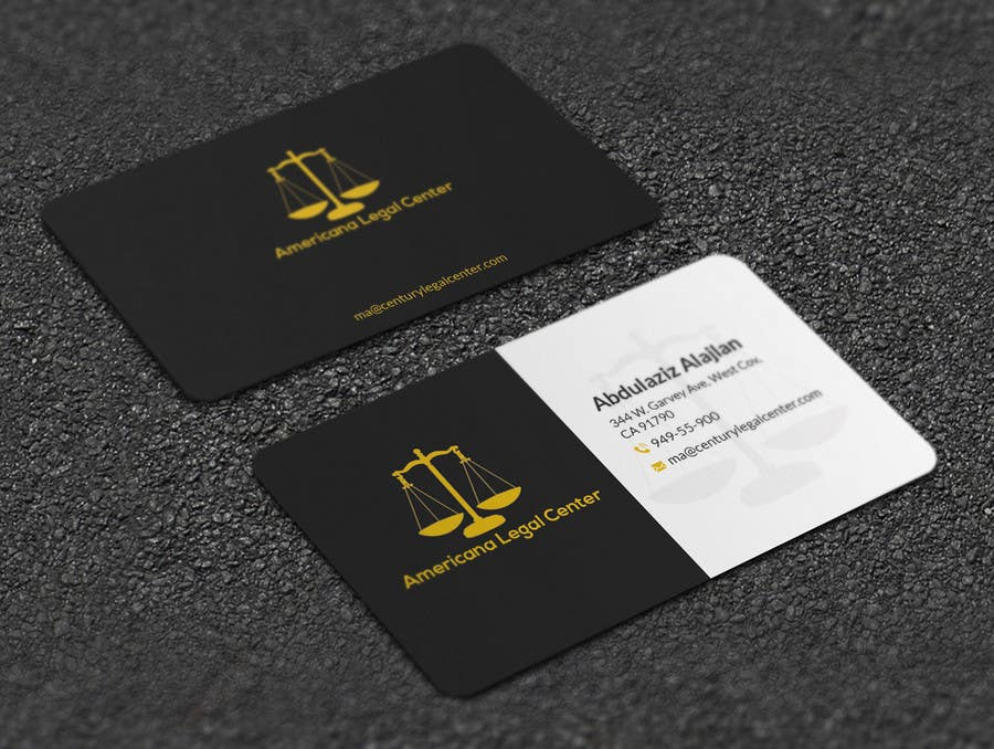 Entry #39 by Artspixel for EASY Design some Legal Business Cards ...