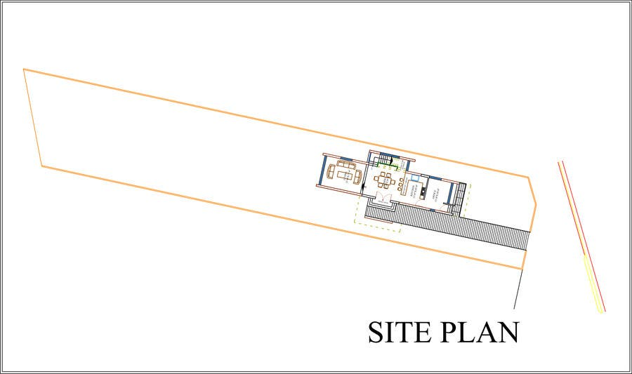 #21 for Provide a floor plan for a duplex by saifulislam1987