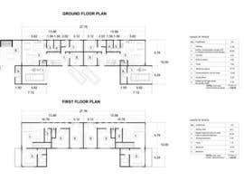 #38 for Provide a floor plan for a duplex by ljubicaripic