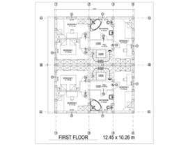 #23 for Provide a floor plan for a duplex by Sebi71