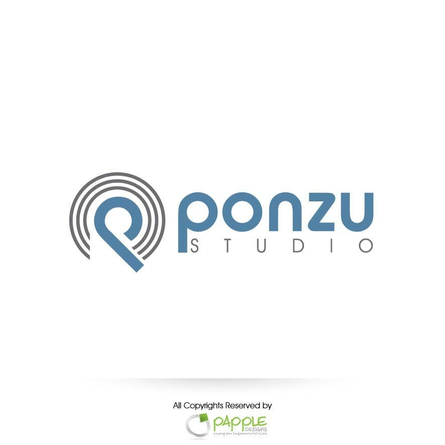Конкурсная заявка №44 для Logo Design for Ponzu Studio