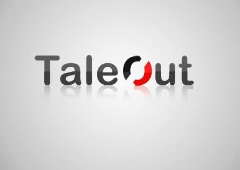 "Kilpailutyö #246 kilpailussa Logo Design for ""TaleOut"""