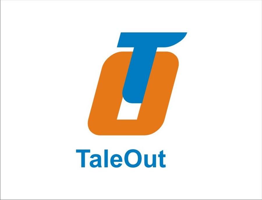 "Kilpailutyö #237 kilpailussa Logo Design for ""TaleOut"""