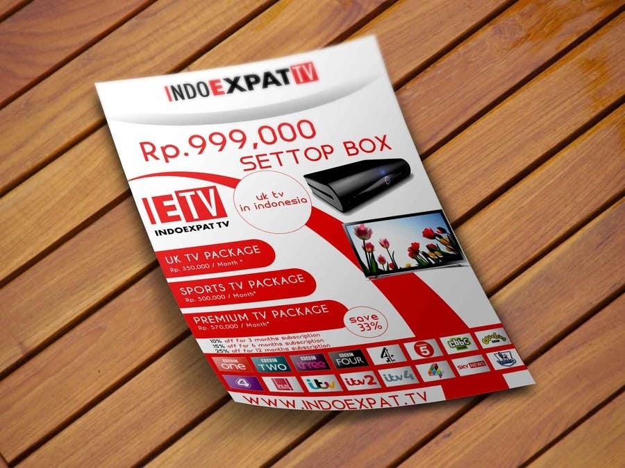 #19 for Design a Flyer for IPTV Company by niyajahmad