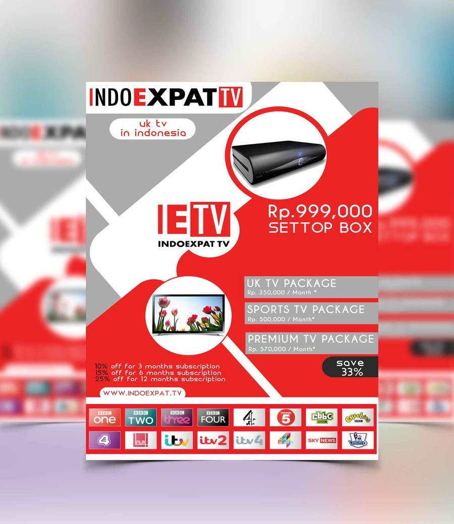 #24 for Design a Flyer for IPTV Company by niyajahmad