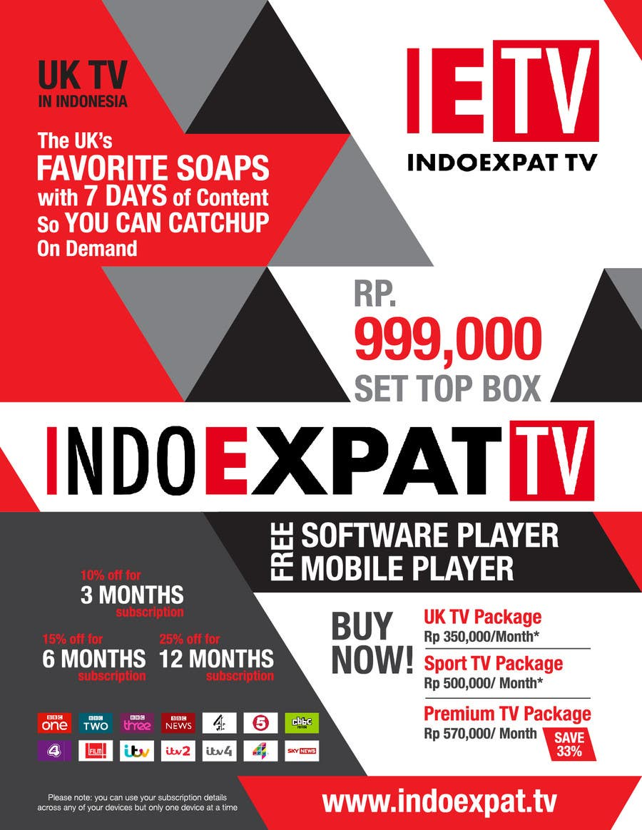 #12 for Design a Flyer for IPTV Company by logowizards