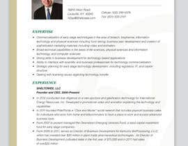 #5 cho Graphic Design for Curriculum Vitae bởi Youg