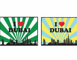 #29 for I Heart Dubai for sound activated LED shirt by jiamun