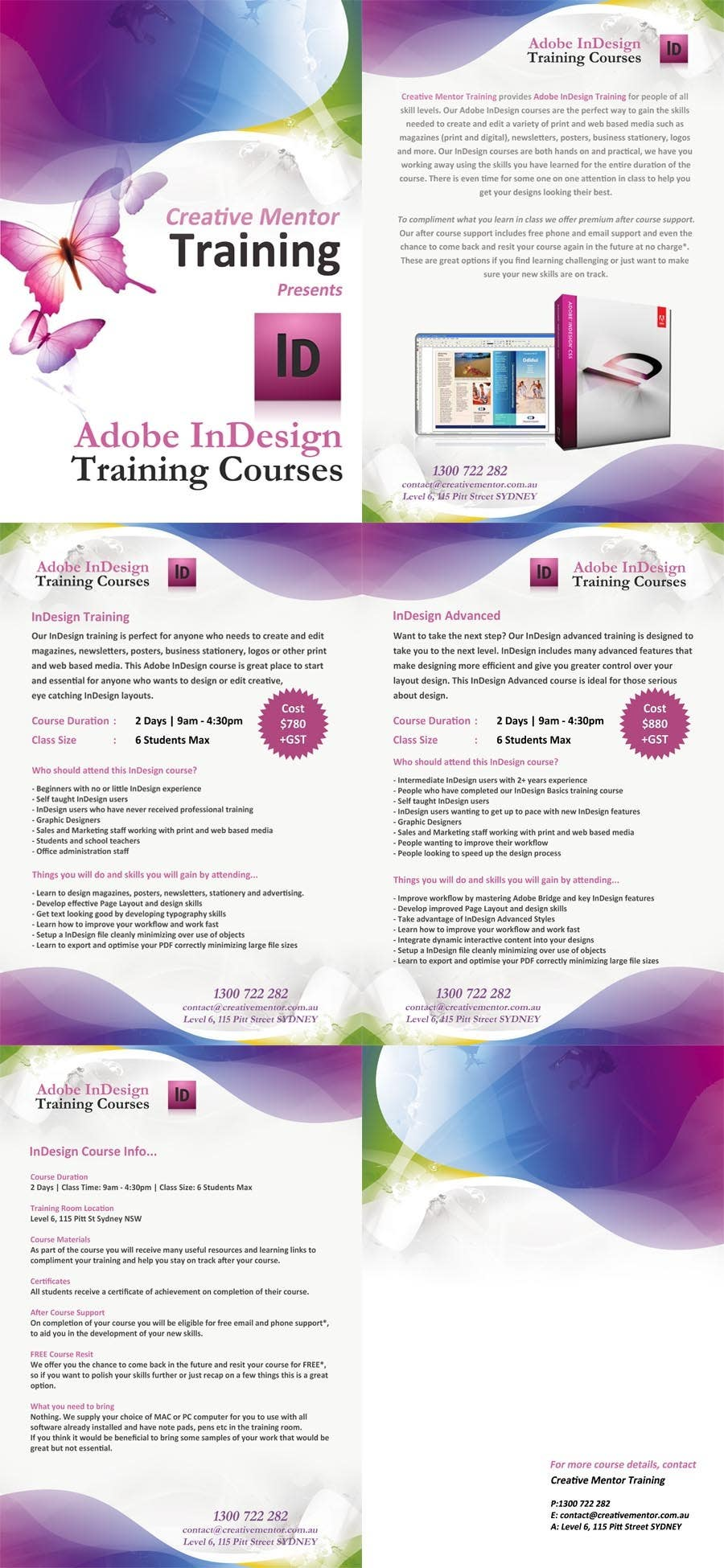 Contest Entry #                                        7                                      for                                         Brochure Design for Creative Mentor Training