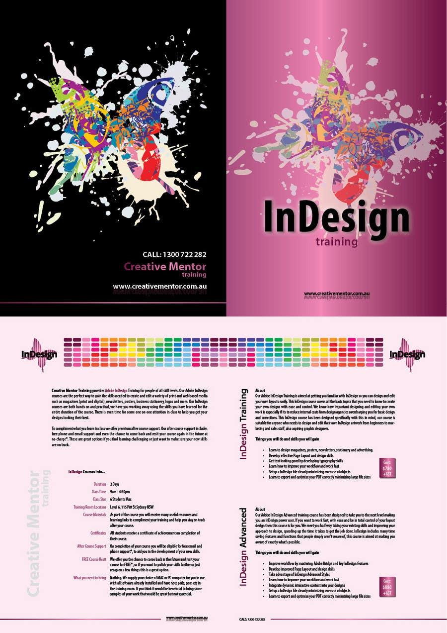 Inscrição nº                                         8                                      do Concurso para                                         Brochure Design for Creative Mentor Training