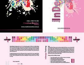 #9 pentru Brochure Design for Creative Mentor Training de către Tiribombel