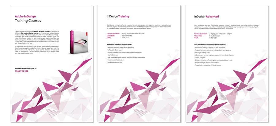Inscrição nº                                         2                                      do Concurso para                                         Brochure Design for Creative Mentor Training