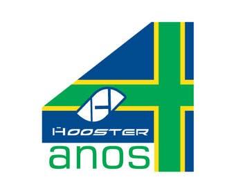 #3 for Commemorative Logo + Key Visual Hooster by basitsiddiqui