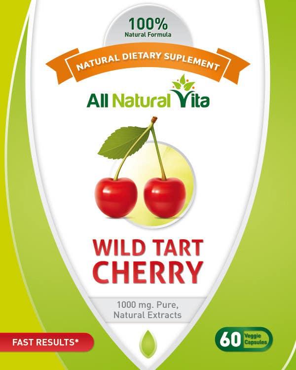 Proposition n°                                        29                                      du concours                                         Design a supplement Bottle Label for All Natural Vita