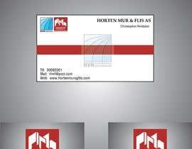 #26 para Design noen visittkort for Horten Mur og Flis AS por SaimRasheed