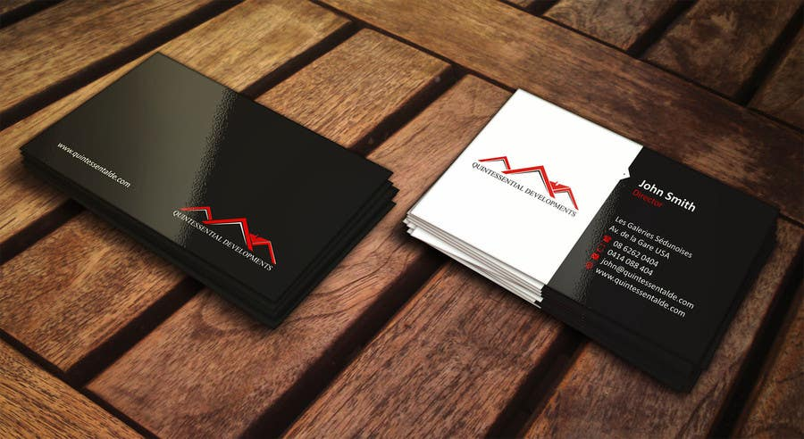Contest Entry 3 For Design Some Business Cards A Property Development And Refurbishment