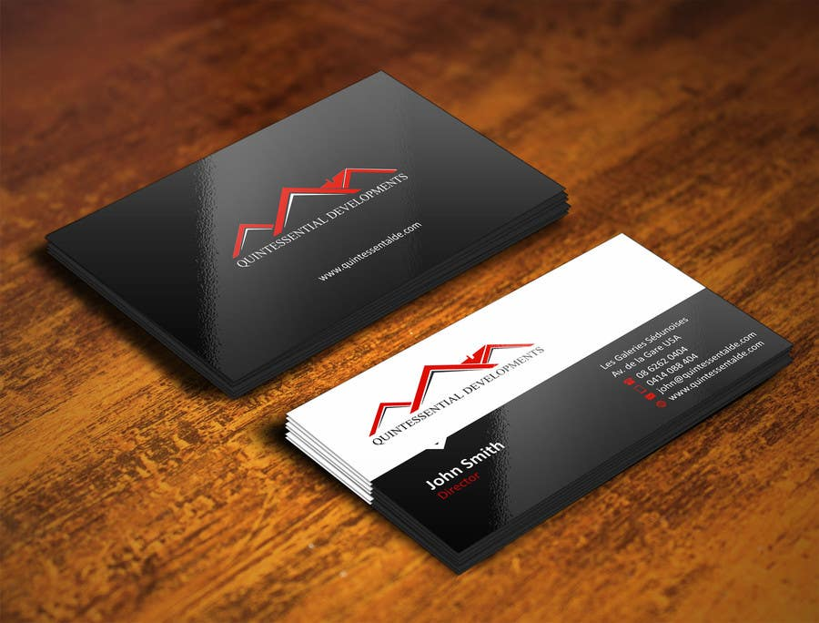 Contest Entry 7 For Design Some Business Cards A Property Development And Refurbishment