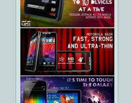 Nro 44 kilpailuun Advertisement Design for Verizon Wireless Premium Retailer- The Wireless Center käyttäjältä jagadeeshrk