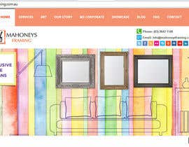 #6 cho Design a Banner for Custom Framing business bởi samazran