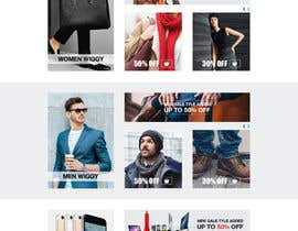 #28 for Design an e-commerce website mockup (Design Only, No programming Required) by wwwdonsl