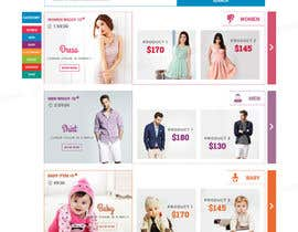 #37 for Design an e-commerce website mockup (Design Only, No programming Required) by tamamanoj