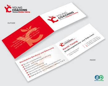 Image of                             Folding Card - 4 Sided - German ...