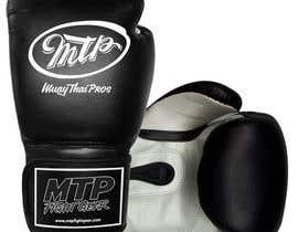 #32 for Design a Basic Black and White Boxing Glove (I already have logo options) by OvidiuSV