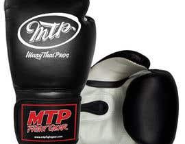 #34 for Design a Basic Black and White Boxing Glove (I already have logo options) by OvidiuSV