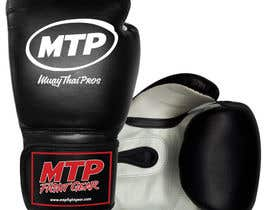 #35 for Design a Basic Black and White Boxing Glove (I already have logo options) by OvidiuSV