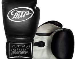 #39 for Design a Basic Black and White Boxing Glove (I already have logo options) by OvidiuSV