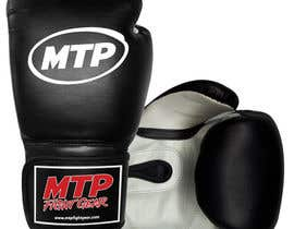 #42 for Design a Basic Black and White Boxing Glove (I already have logo options) by OvidiuSV