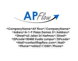 #10 para Design a Logo for AP Flow de TEGraphtech