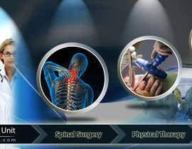#158 untuk Banner Ad Design for London Spine Unit oleh mandarv