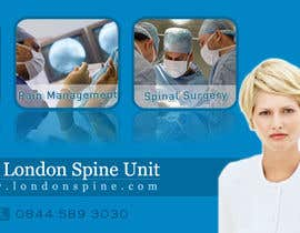 #142 pentru Banner Ad Design for London Spine Unit de către neev16