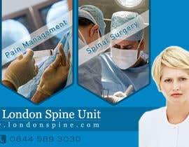 #122 untuk Banner Ad Design for London Spine Unit oleh neev16