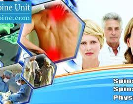 #92 pentru Banner Ad Design for London Spine Unit de către mokhlis88