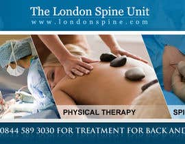 #137 untuk Banner Ad Design for London Spine Unit oleh dreamsweb