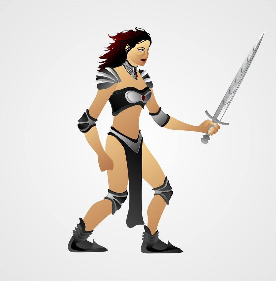 Inscrição nº                                         2                                      do Concurso para                                         Medieval Fantasy game character design