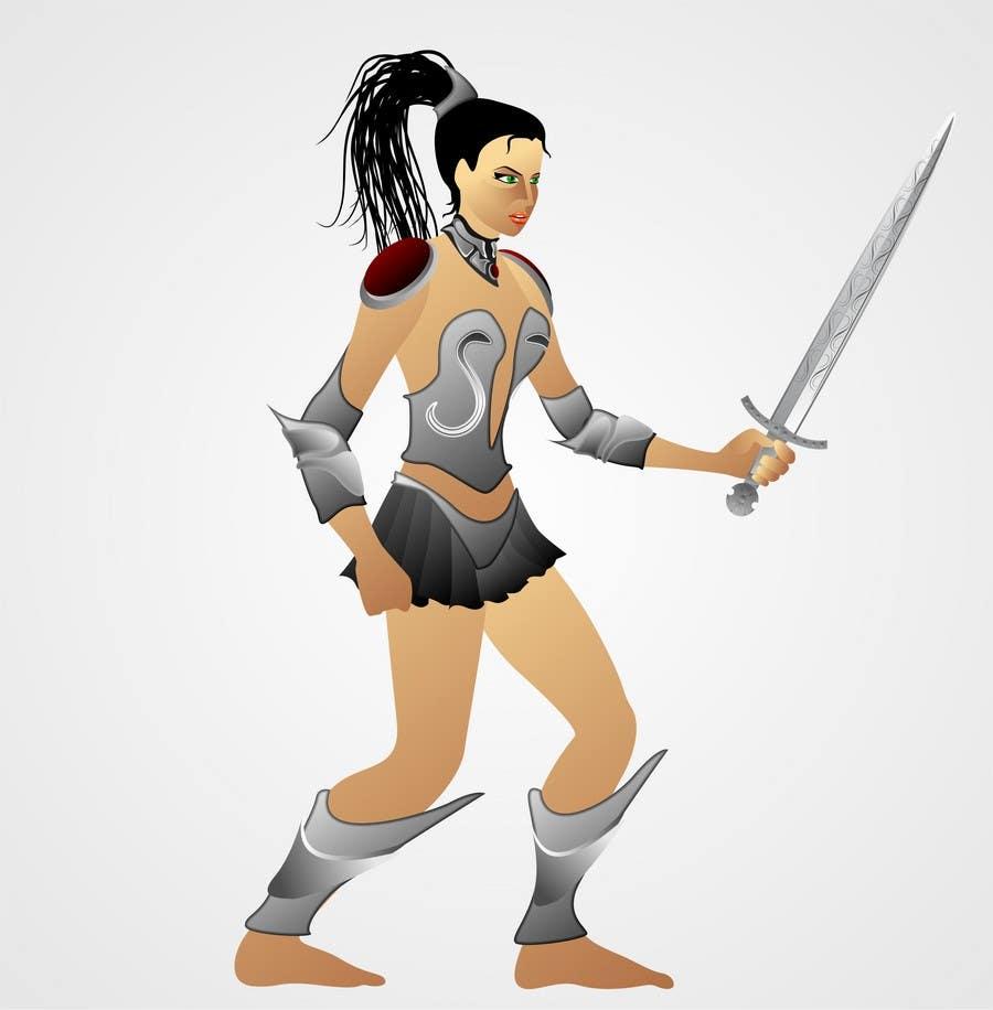 Inscrição nº                                         6                                      do Concurso para                                         Medieval Fantasy game character design