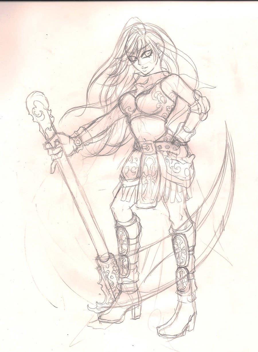 Inscrição nº                                         7                                      do Concurso para                                         Medieval Fantasy game character design