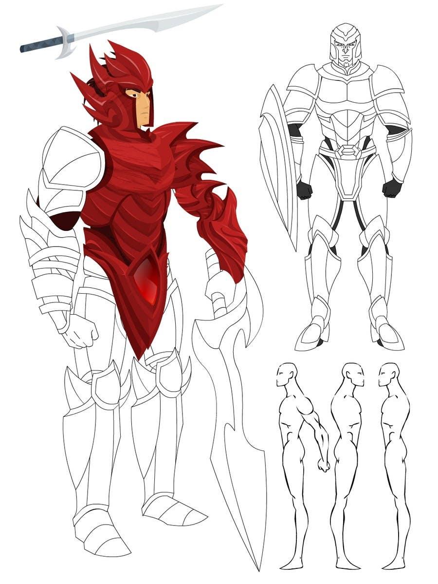 Inscrição nº                                         20                                      do Concurso para                                         Medieval Fantasy game character design