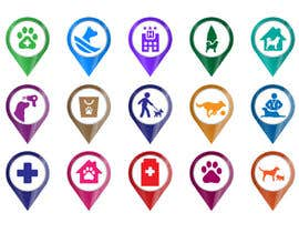 #41 for Redesign 15 Map Markers for a Locator Page by praxlab