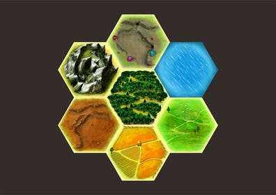 #22 for Game artwork: Tiles for game by karmachela