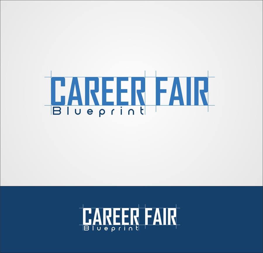 Entry 29 by mille84 for career fair blueprint logo design freelancer contest entry 29 for career fair blueprint logo design malvernweather Image collections