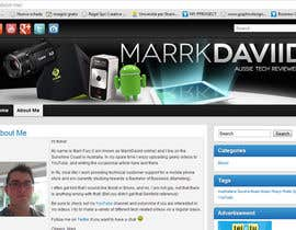 #27 для Banner Design for MarrkDaviid.com от Ferrignoadv