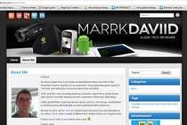 Graphic Design Konkurrenceindlæg #26 for Banner Design for MarrkDaviid.com
