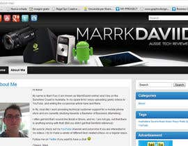 #26 для Banner Design for MarrkDaviid.com от Ferrignoadv
